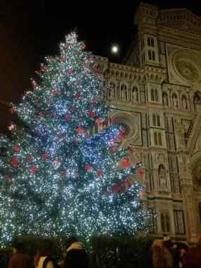 Christmas Tree at the Duomo